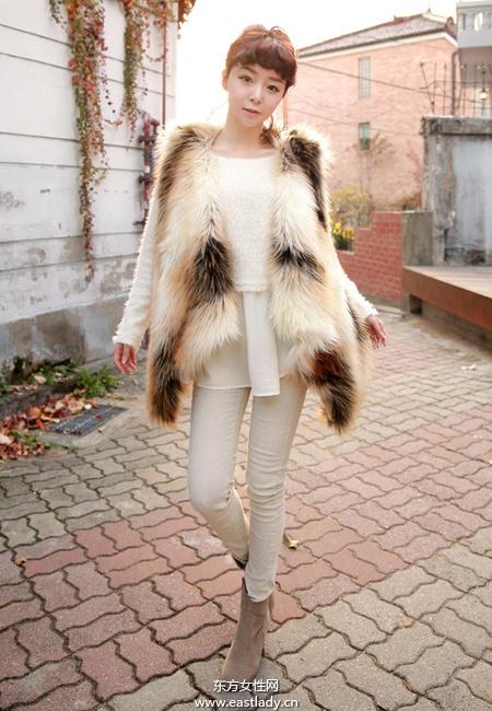 2013最新韩国街拍显高显瘦服装搭配太有爱了
