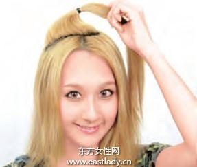 2013最新发型之花式拧发发型