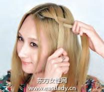 新款编发发型 使人迅速减龄十岁