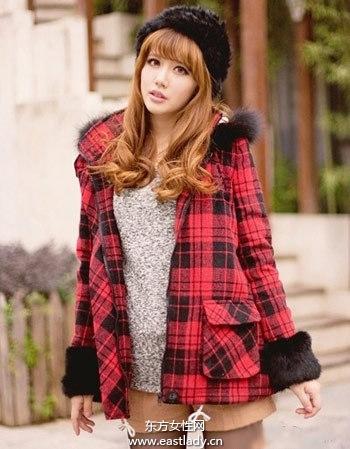 时尚羊绒大衣 展现优雅魅力风情