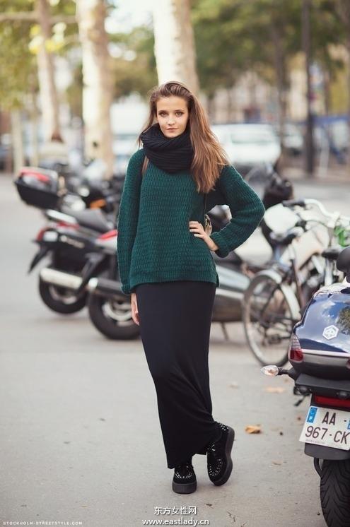 棒针毛衣多样式针织法让你显得更加特别