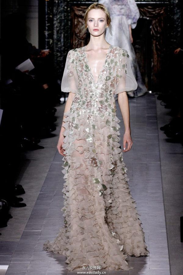 2013年Valentino春夏系列高级定制时装秀
