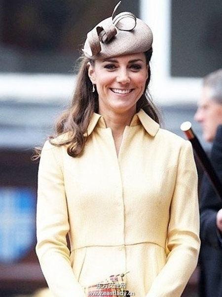 帽子怎么戴才高贵 让我们向凯特王妃学习