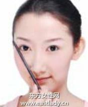 粗粗浓眉毛的画法打造个性风