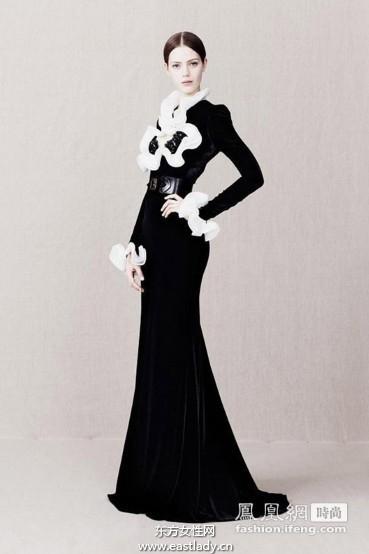 亚历山大·麦昆(Alexander McQueen)2013早秋女装低调诠释奢华