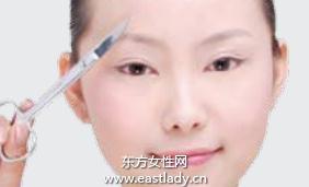 黄金比例修眉法 修剪完美眉形