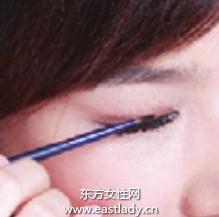 大眼妆眼线液化法让双眸瞬间释放魅惑力