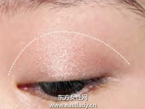 化妆技巧之使用眼影膏打造夏季清凉妆