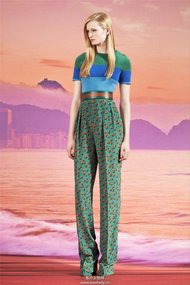 Gucci 2014服装度假系列鉴赏