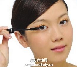 化妆教程之超卷翘上睫毛化妆法