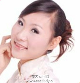 2013最新韩式扭发发型扎法步骤