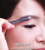 画眉毛之画出可爱气质美人眉