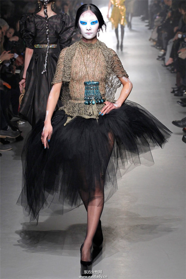 ivienne Westwood 2013秋冬流行服饰时尚大片