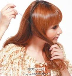 打理出漂亮弧度卷发发型设计