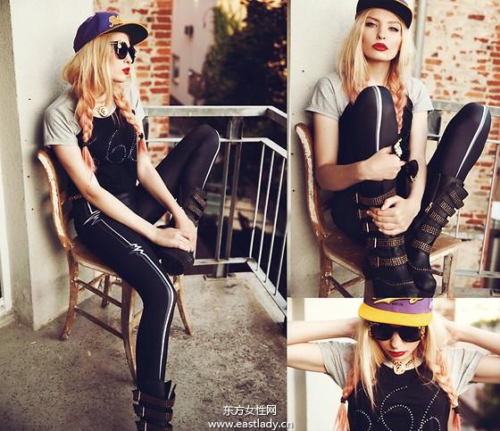 欧美潮装穿出你的时尚个性