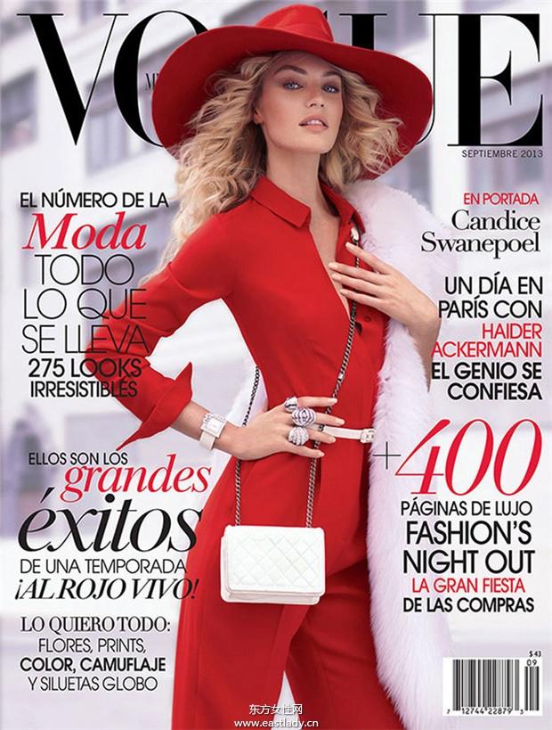 Candice Swanepoel《Vogue》2013年9月墨西哥版