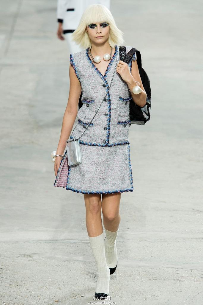 Chanel(香奈儿)巴黎2014春夏流行服饰时尚大片
