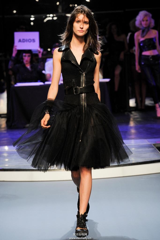 Jean Paul Gaultier(高缇耶)2014春夏流行服饰时尚大片