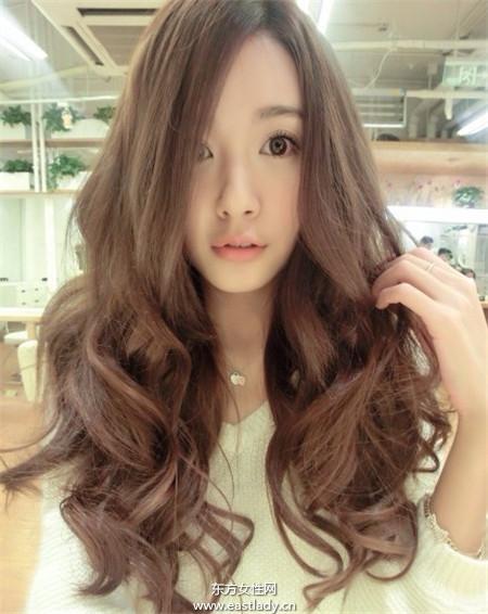 时尚卷发发型图片欣赏