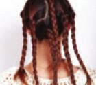 多发辫团子头提升整体气质