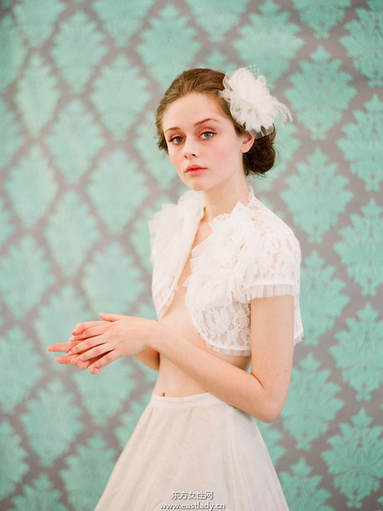 甜美仙女范新娘造型