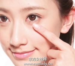 修补眼周干纹导致的花妆