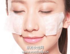 修补脸颊斑驳不均的底妆