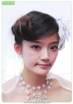 好看刘海日系发型变身可爱芭比
