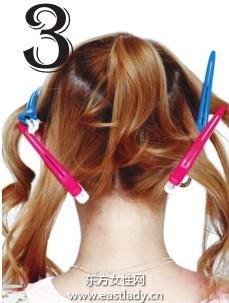 女生发型之如何给发型分区