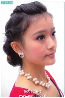 韩式编发发型展现东方女性典雅含蓄和优美
