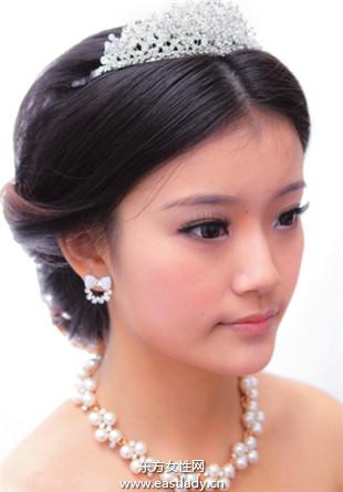 韩式刘海发型清甜中带着性感