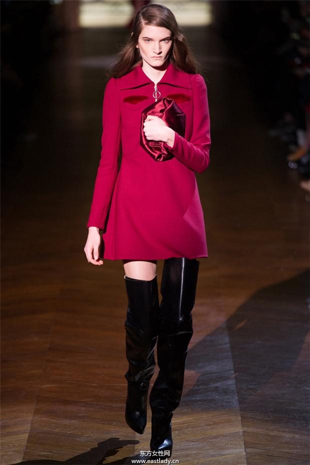 Carven巴黎时装周2014秋冬新品发布