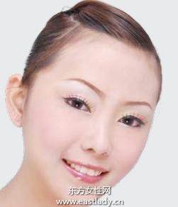 纯情水蜜桃眼妆让人更迷人