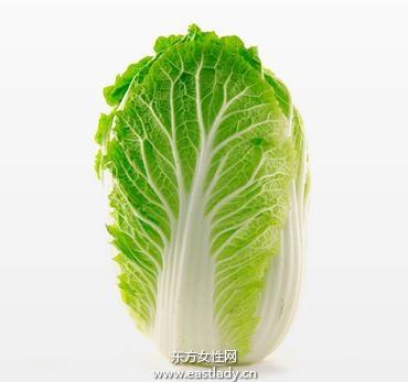 白菜缓解烫伤疼痛