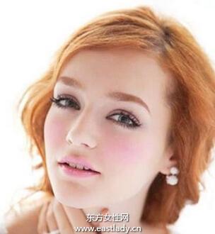 腮红修饰脸型美化肤色必备化妆品