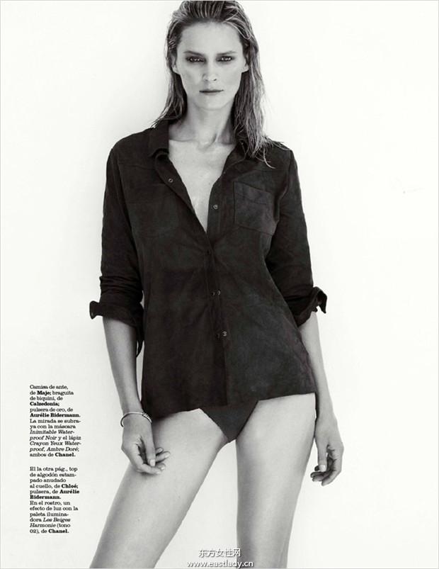 Carmen Kass《Marie Claire》2014年7月西班牙版