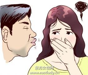 舌舔口腔可以防止口臭
