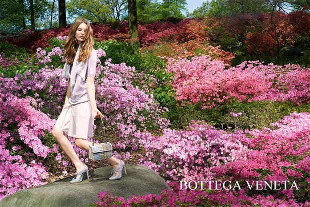 Bottega Veneta 2015服装度假系列广告大片
