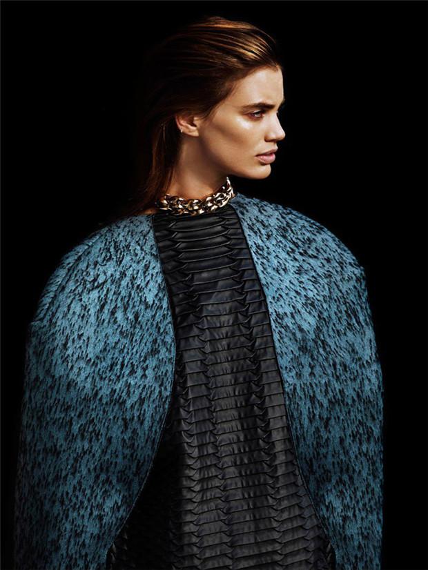 Rianne ten Haken《Profile》时尚杂志2014年12月号