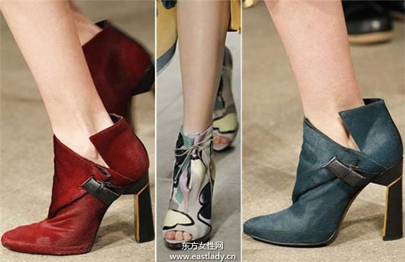冬季特色短靴穿出自己的时尚魅力