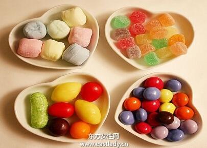 过量吃甜食是女性健康杀手