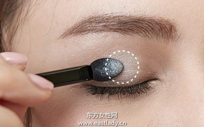 眼妆的画法