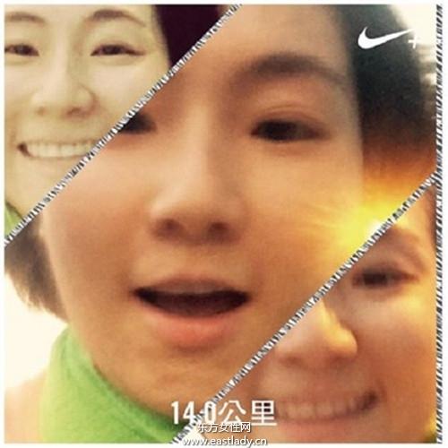 Selina参加马拉松挑战赛 老公阿中说风凉话 很伤心