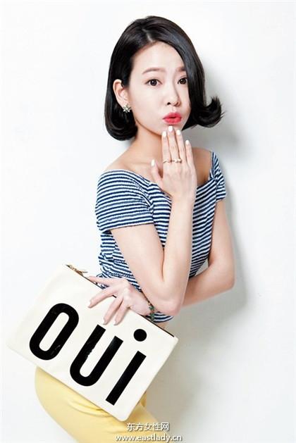 韩系「翘」丽短发 变身性感小女人
