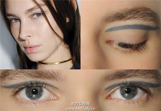 2015年个性眼线画法 让气场更强