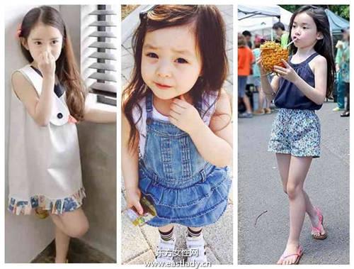 居然穿得比我们还潮 韩国小梦莉教你什么是时尚