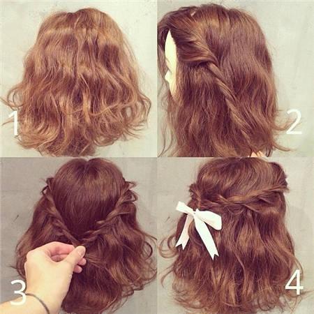 简单两步骤让辫发更可爱