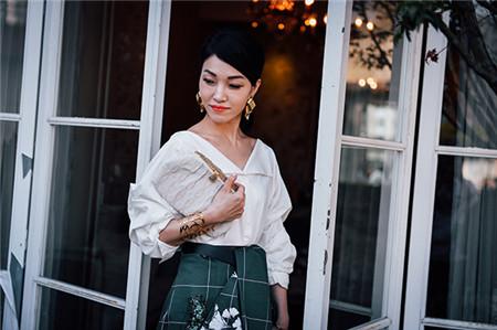 蔡依林亲姐蔡旻纹亲授如何养成贵妇般优雅气质