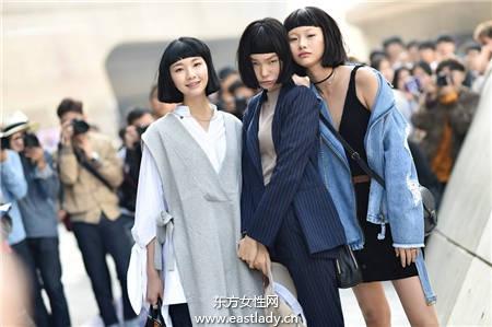 首尔时装周 时尚达人都这样穿