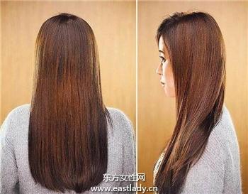 三款明星味十足的长发发型设计方案